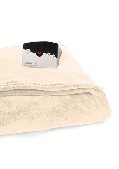 Biddeford Heated Electric Plush Blanket