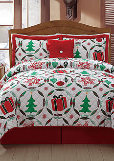 Day by Day™ Holiday at Home Quilt Set