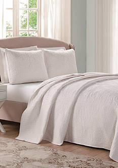Laura Ashley Silky Satin Bedspread