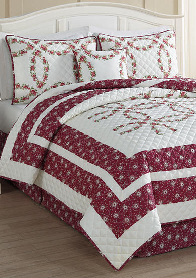 Day by Day™ Floral Ring 5-piece Quilt Set