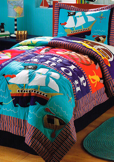 My World® Pirate Treasure Quilt Set - Online Only