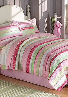 My World® Anna's Ruffle Quilt Set - Online Only