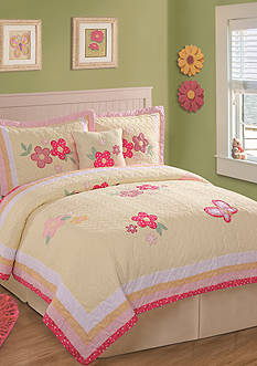 My World® Golden Trail Quilt Set - Online Only