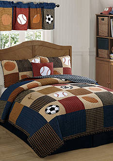 My World® Classic Sports Quilt Set - Online Only