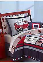 Fireman Decorative Pillow 16-in. x 16-in.
