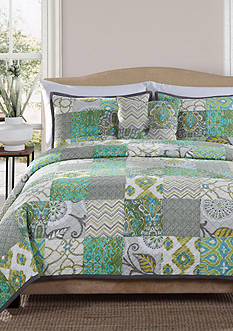 Retro Chic™ Grady Twin Quilt 68-in. x 90-in.