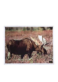 Pem America Moose Printed Throw