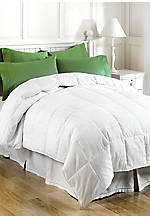 White 300 Thread Count Down Alternative Full/Queen Comforter 88-in. x 98-in.