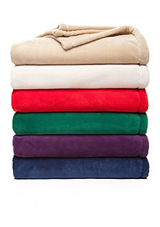 Home Accents® Microplush Throw