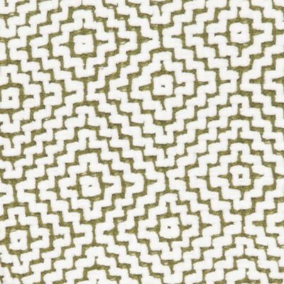 Bed Throw: Olive Home Accents Khaki and Ivory Diamond Chenille Throw