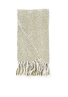 Home Accents CHENILLE OLIVE/IVORY