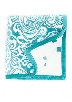 Home Accents Reversible Plush Throw