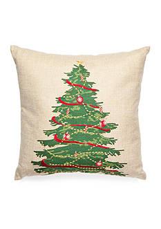 PEKING HANDICRAFT Christmas Tree Decorative Pillow