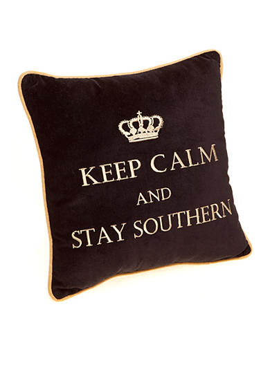 PHI Keep Calm and Stay Southern Pillow