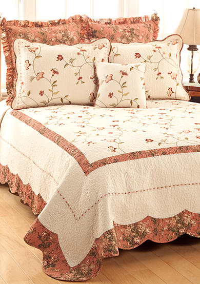 Modern Heirloom Collection Mallory Quilted Bedspread Collection