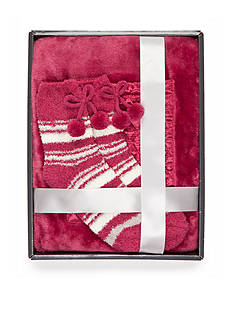 Park Avenue Reader's Wrap and Sock Set