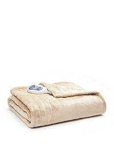 Sleep Philosophy Heated Microlight Throw