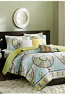 Madison Park Samara 6-Piece Coverlet Set