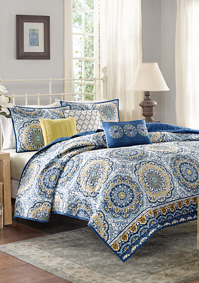 Madison Park Tangiers 6-Piece Coverlet Set