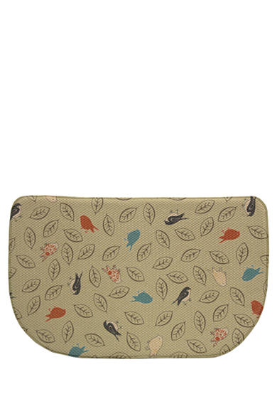 Bacova Memory Foam Mat with Bird Design