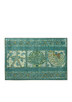 Bacova Seashell Mosaic Accent Rug