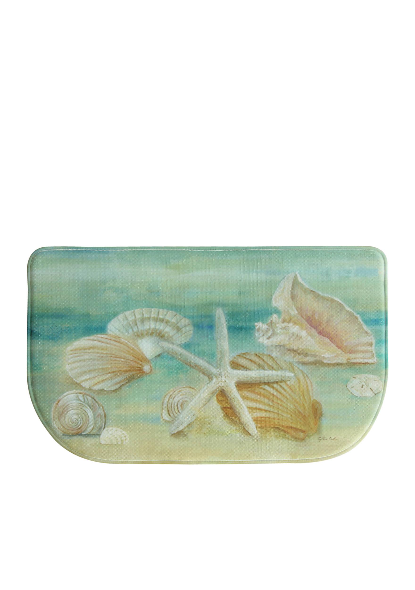 Bacova Horizon Shells Kitchen Rug | belk