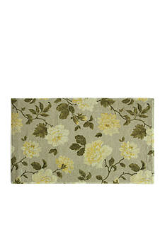 Bacova Rose Yellow Accent Rug