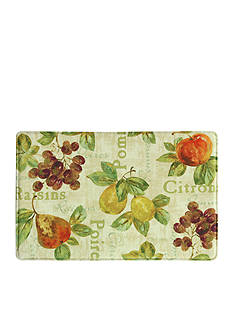Bacova Rustic Fruit II Memory Foam Kitchen Slice Accent Rug