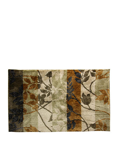Bacova Tonal Vine Gold Accent Rug