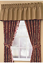 Regency Valance 82-in. x 18-in. + 2-in. Header