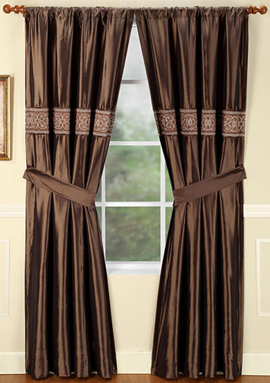 Home Fashions International Christina Window Panel - Online Only
