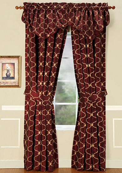Home Fashions International Enzo Window Treatments - Online Only