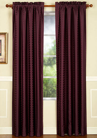 Home Fashions International Concentric Woven Window Panel