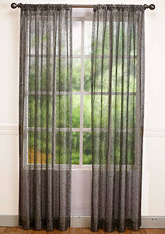Home Fashion Int'l Calisto Semi-Sheer Window Panel - Online Only
