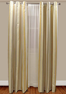 Home Fashion Int'l Chichi Stripe Lined Window Panel - Online Only