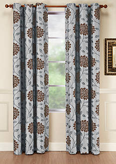 Home Fashions International Dahlia Window Panel - Online Only