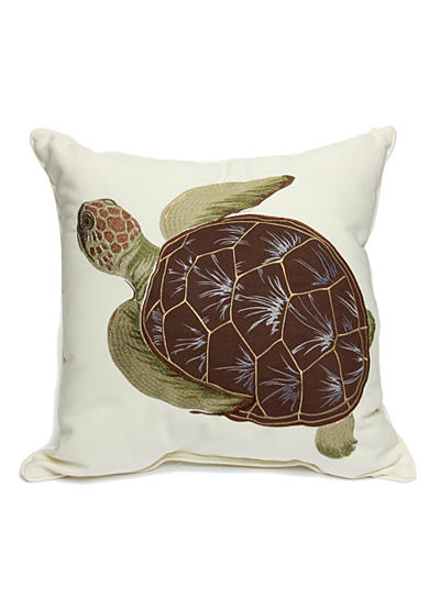 Home Fashions International Sea Turtle Decorative Pillow