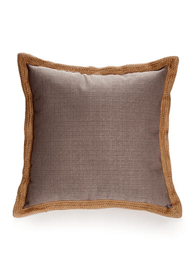 Decorative Pillows Trim : Home Fashions International Jute Trim Decorative Pillows Belk