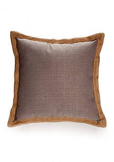 Home Fashions International Jute Trim Decorative Pillows