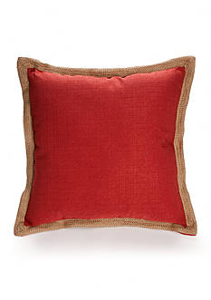 Home Fashion Int'l Jute Trim Decorative Pillows
