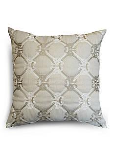 Home Fashions International CL Knots Linen Decorative Pillow