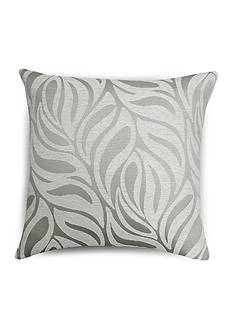 Home Fashions International Breeze White/Linen Decorative Pillow