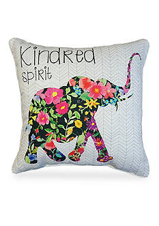 Edith™ Edith Elephant Decorative Pillow