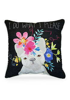 Edith™ Edith French Bulldog Decorative Pillow