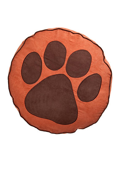 Home Fashions International Paw Print Round Dog Bed - Online Only