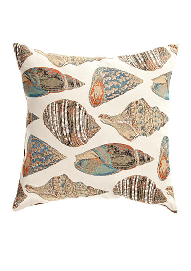 Brentwood She Sells Sea Shells Decorative Pillow