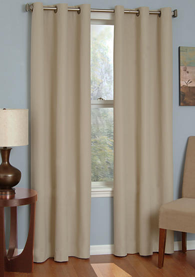 Eclipse™ Microfiber Grommet Blackout Window Curtain Panel - Online Only