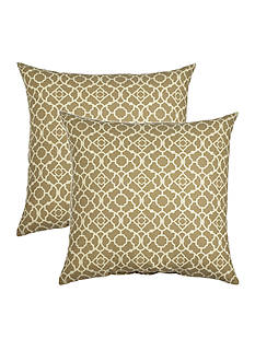 Waverly® Lovely Lattice Decorative Pillow Set 2-Pack