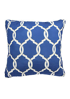Parasol™ Totten Key Trellis Decorative Pillow