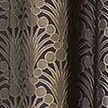 Patterned Curtains Sale: Dark Mushroom Vue Signature VS FALLON RD PEARL 52X84